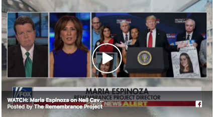 """Maria Espinoza on Neil Cavuto:  Trump Meets with Angel Families """"Permanently Separated from Their Loved Ones"""""""